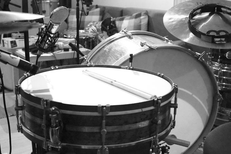 """Gong Snare, 20"""", recording, drum sound, schlagzeug"""